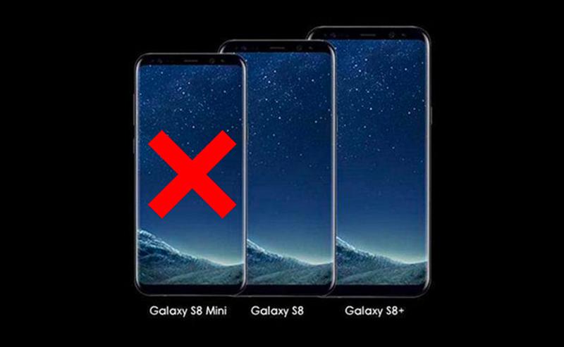 Samsung Galaxy S8 Mini parece que está fora dos planos
