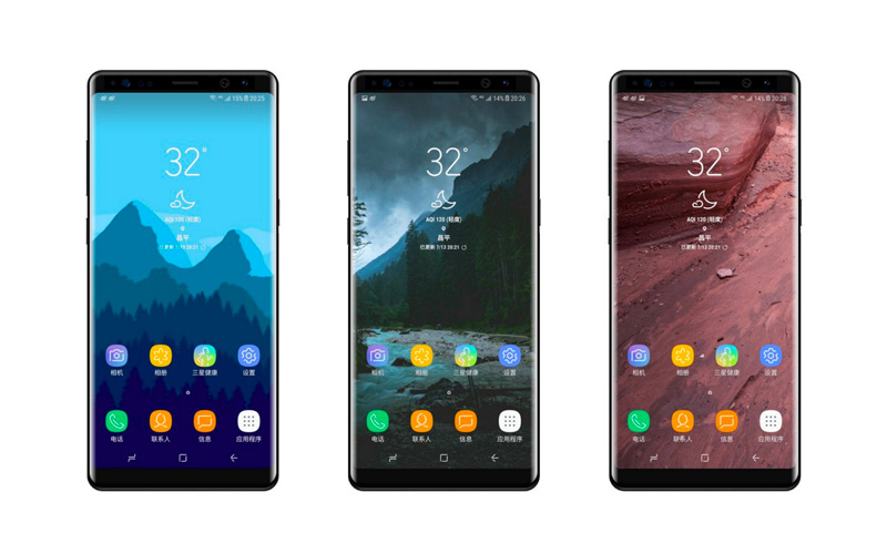 Renders do Samsung Galaxy Note 8