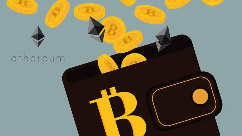 Carteira para criptomoedas Bitcoins e Ethereum