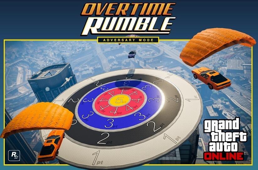 Rockstar, GTA V, Overtime Rumble