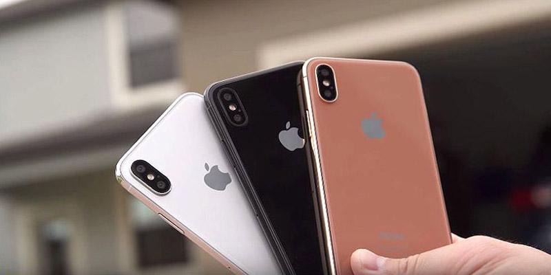 Apple iPhone 8 smartphone iOS Foxconn Blush Gold