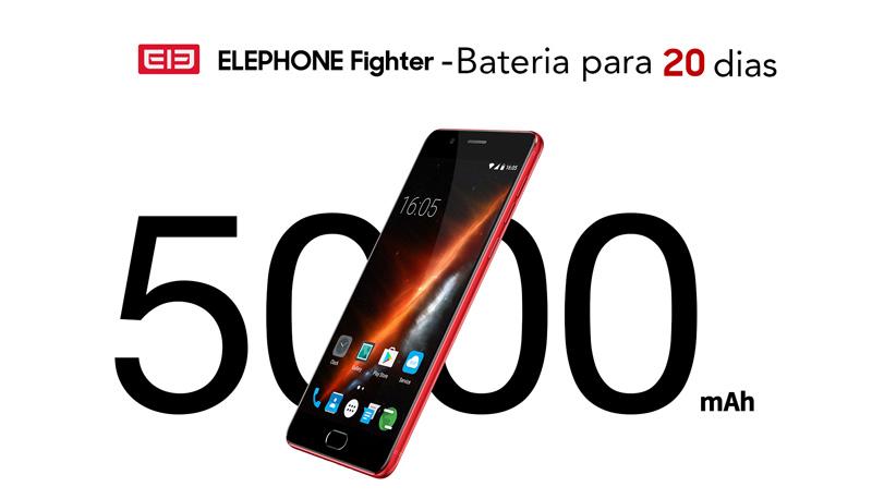 Elephone Fighter: marca alega que a bateria durará para 20 dias