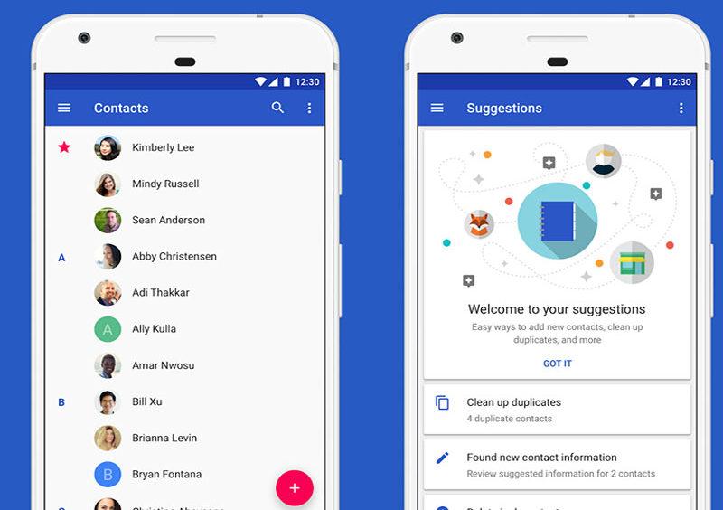 Contactos Smartphone Android Google dica