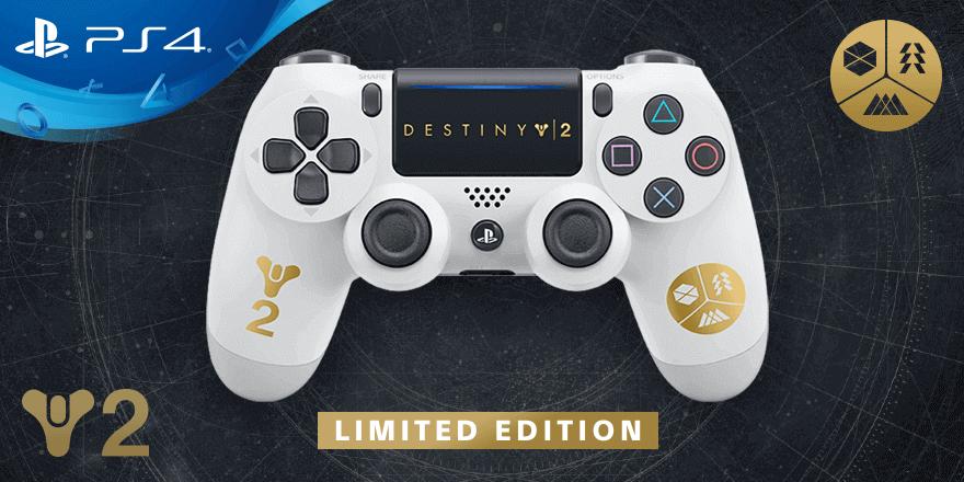 DualShock PS4 alusivo a Destiny 2