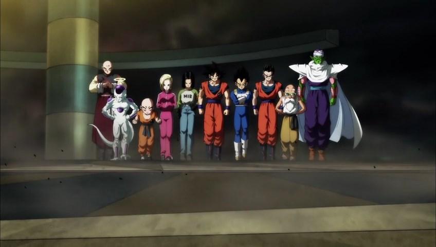 Dragon Ball Super Torneio do Poder Vegeta Goku