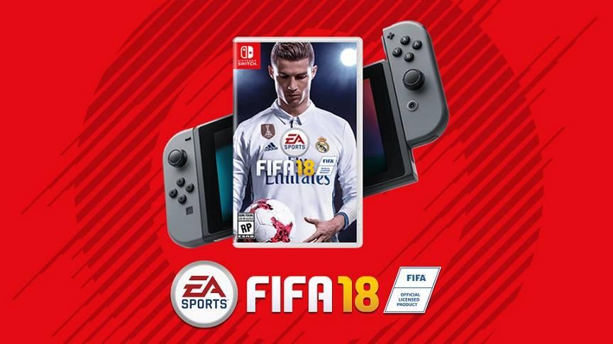 Se FIFA 18 para a Nintendo Switch vender bem, poderá haver mais parcerias EA