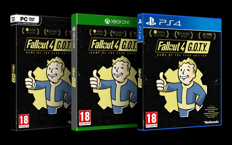 Fallout 4 Game Of the Year Edition 2017 Bethesda