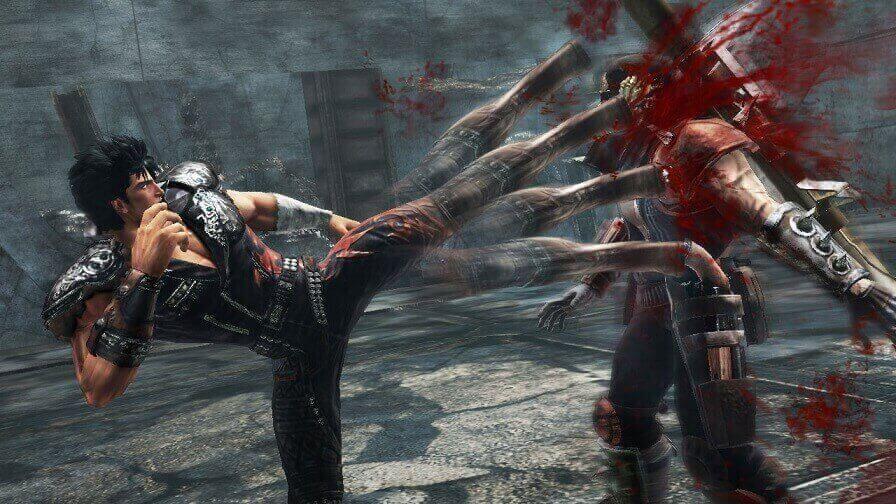Dos criadores de Yakuza: Fist of the North Star para a PS4