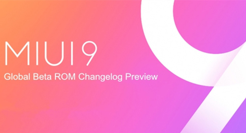 Xiaomi MIUI 9 Global Beta 7.9.21