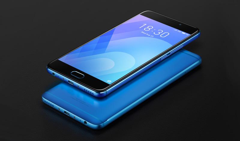 O Meizu M6 Note está disponível em preto e azul.