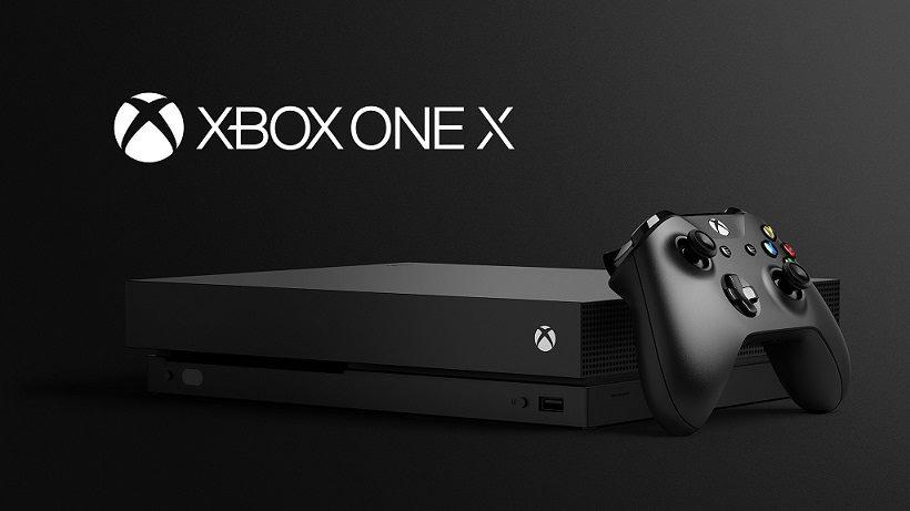 Microsoft Xbox One X irão ser revelados detalhes para a Gamescom