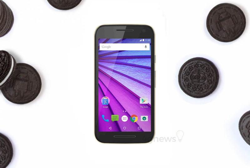 Motorola Moto G3 Android Oreo smartphone