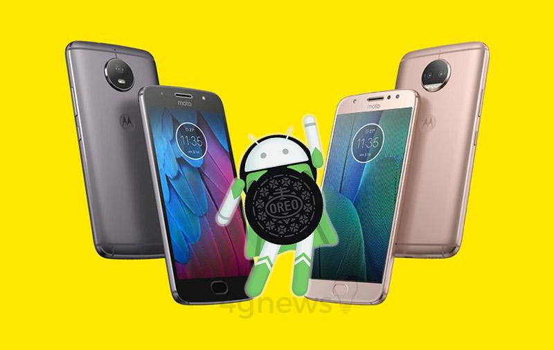 Motorola Moto G5S Plus Android Oreo