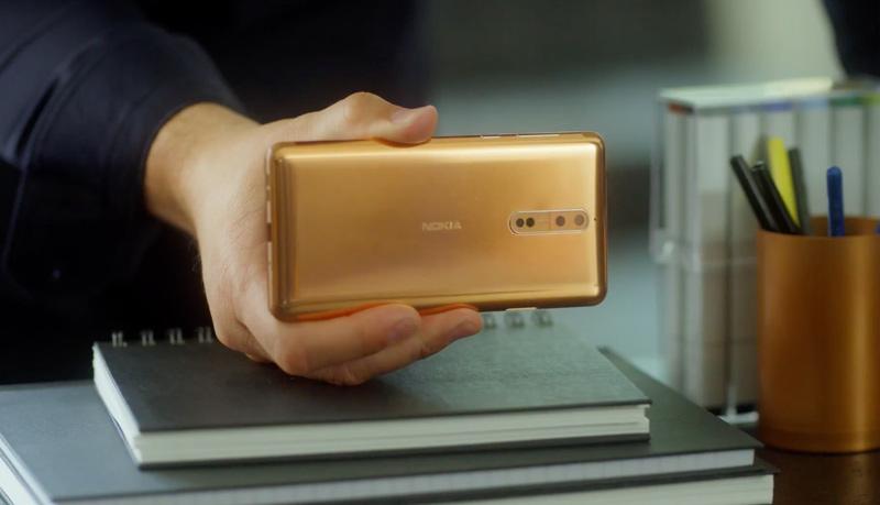 Nokia 8: vídeos publicitários mostram os pormenores do smartphone