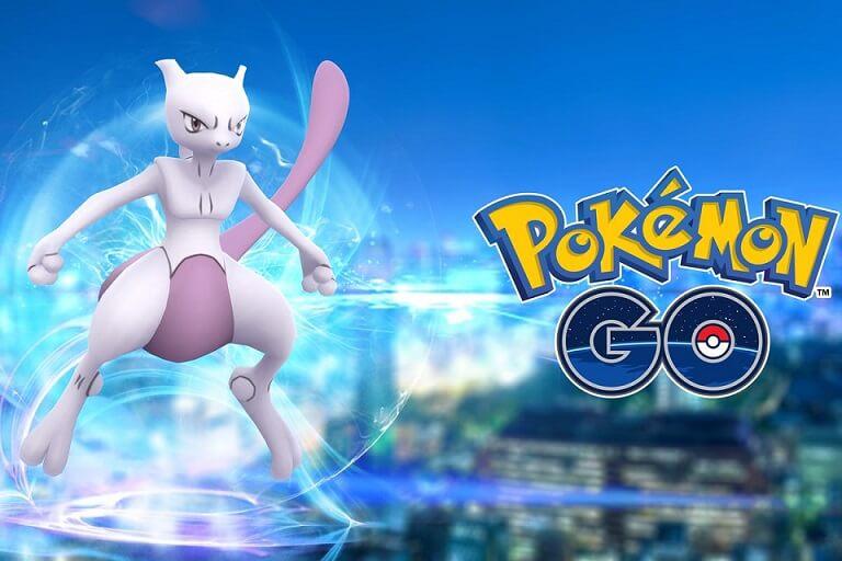 Pokémon GO Mewtwo Niantic Portugal Brasil