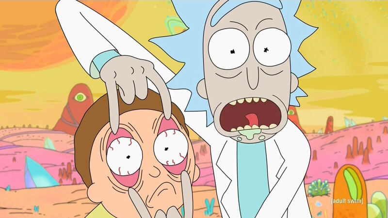 Rick and Morty Série