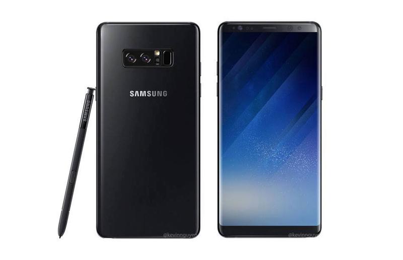 Samsung Galaxy Note 8 pré-venda acessórios
