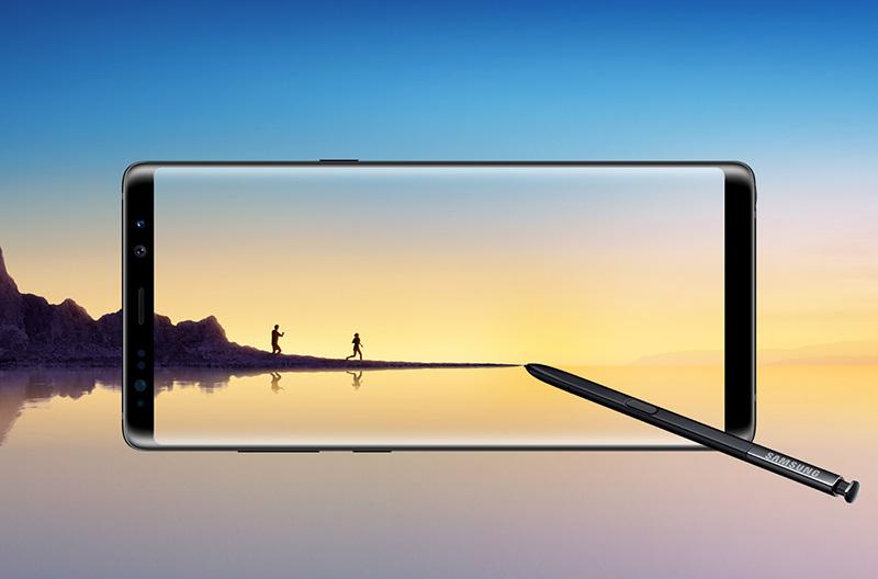 Samsung Galaxy Note8 reconhecimento facial