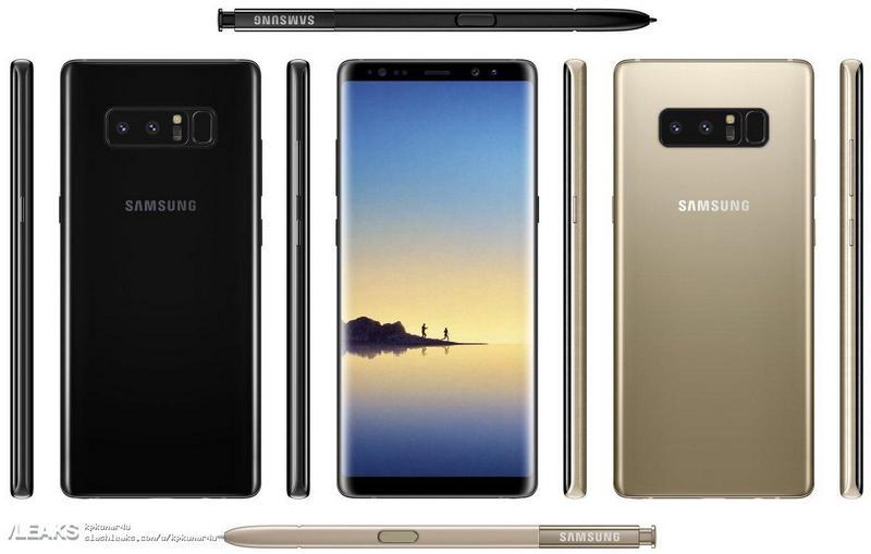 Samsung Galaxy Note 8 Smartphone 4gnews
