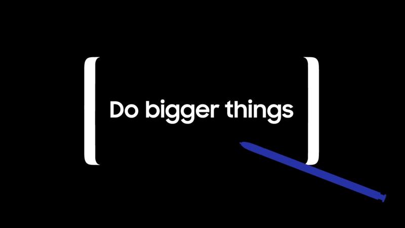 Teaser do Samsung Galaxy Note 8 analisado ao pormenor