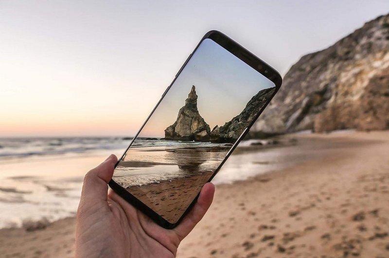 Samsung Galaxy S9 não terá sensor biométrico embutido no ecrã