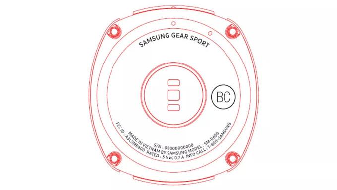 Samsung Gear Sport wearable