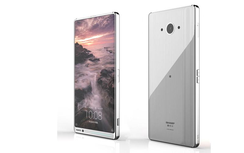 Suposto smartphone Sharp sem margens é simplesmente fenomenal