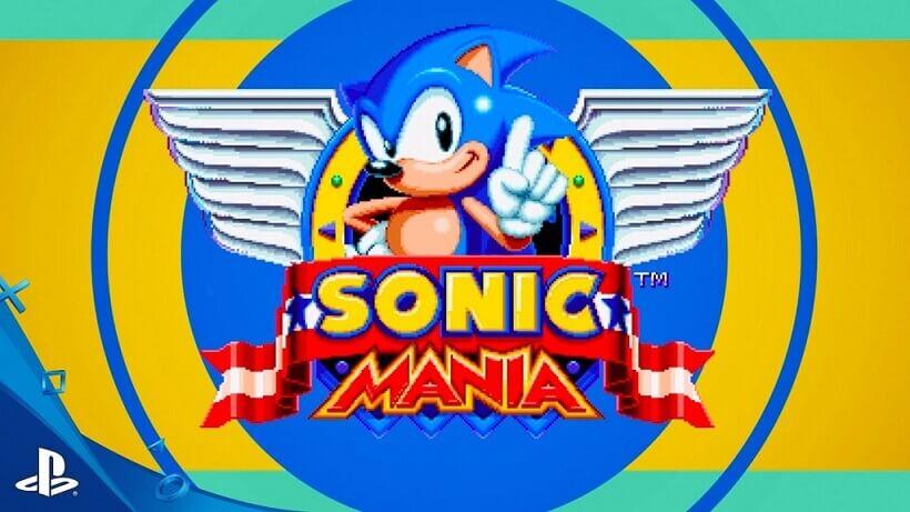 Sonic Mania entre outros, agora na PlayStation Store