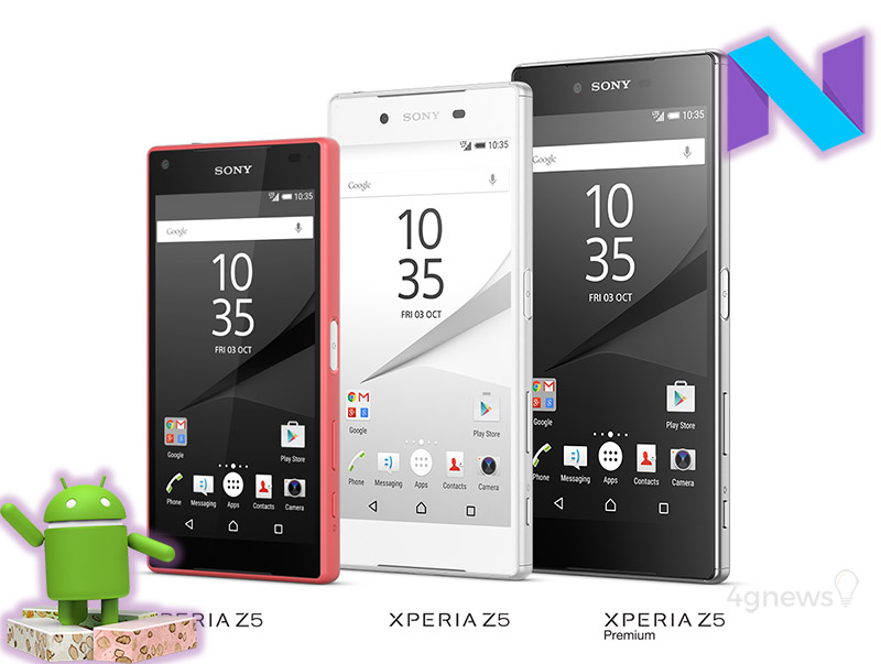 Sony Xperia Z5 Smartphone Android Nougat