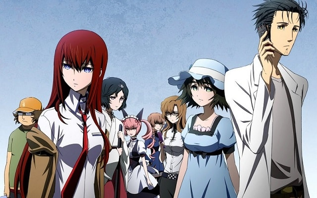 Steins;Gate Anime Hacking to the Gate