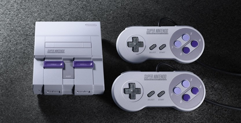 Super Nintendo Classic com novas opções