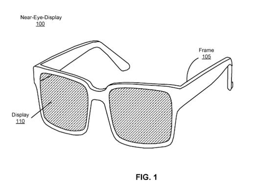 Óculos inteligentes da Facebook