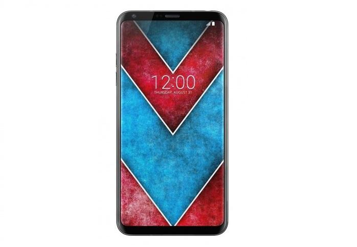 LG V30 com ecrã OLED