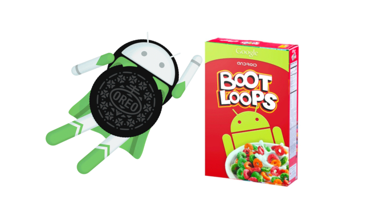 Android Oreo bootloop smartphone