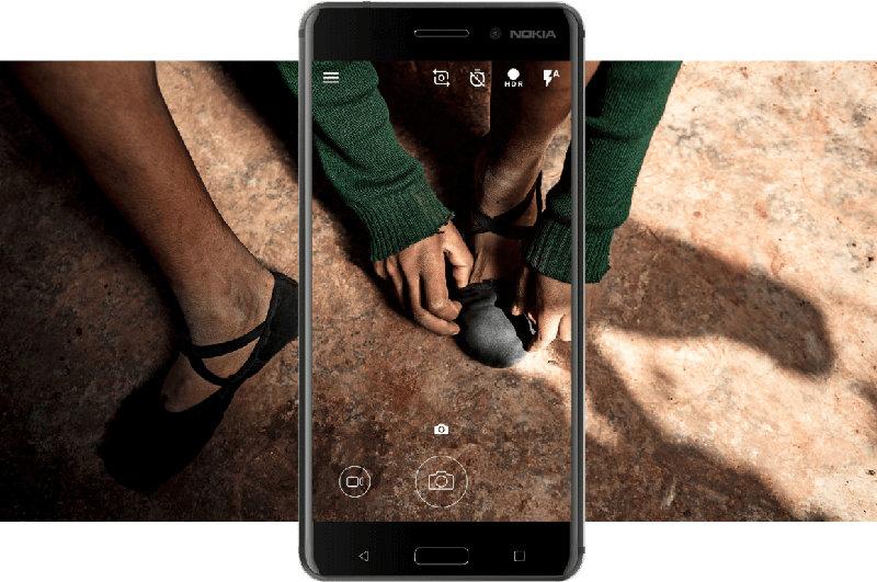 smartphone Android Nougat Nokia 6 HMD