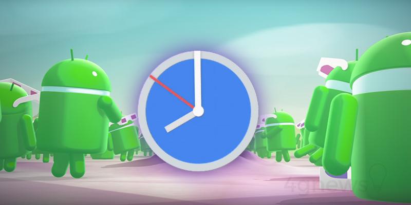 Android Oreo Alarme Clock relógio Google