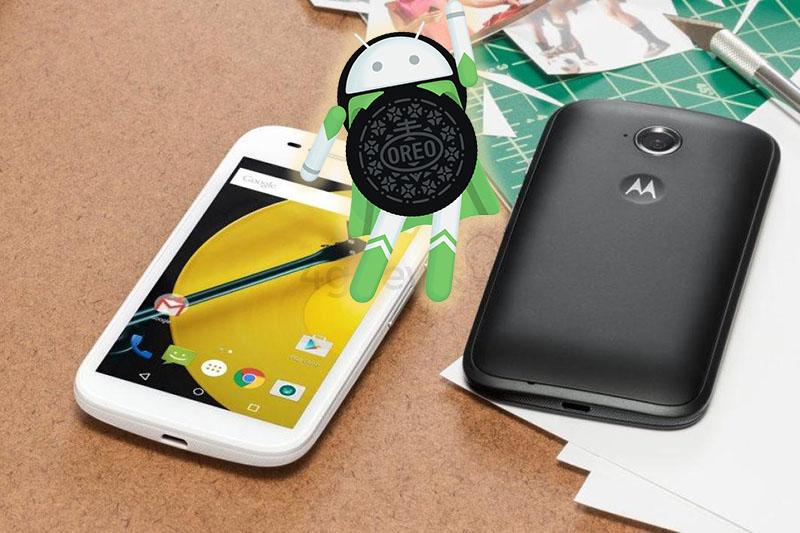 Android Oreo LineageOS 15 Motorola Moto E