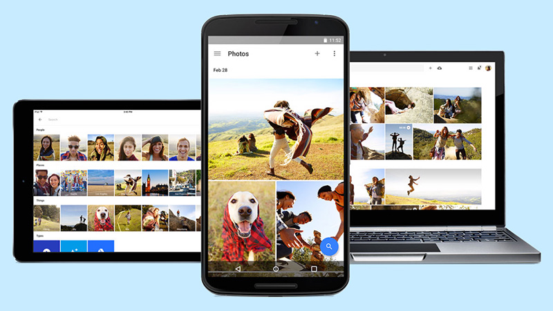 Google Fotos Álbuns