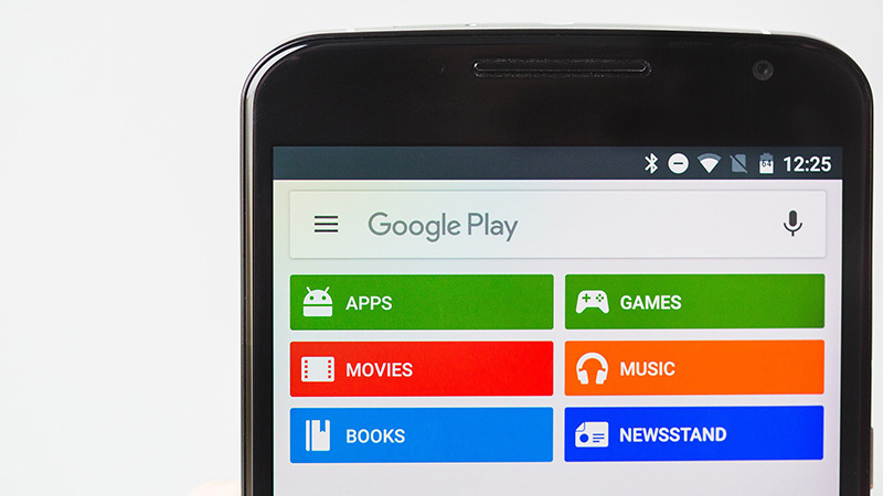 Google Play Store Android Smartphone