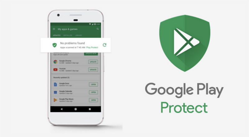 Motorola Moto G4 Google Play Protect Android