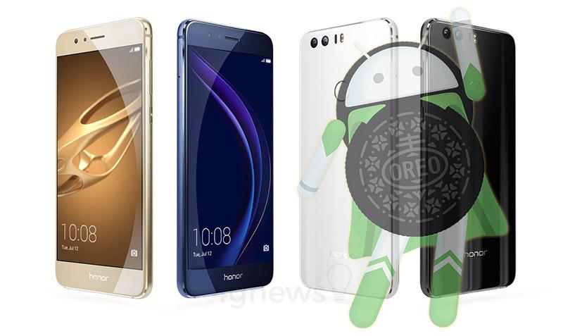 Honor 8 Pro Android Oreo
