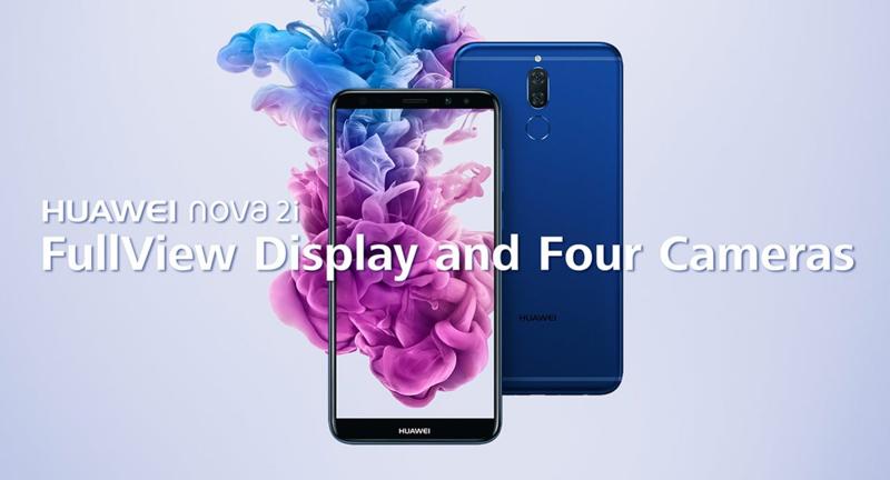 Este é o Huawei Nova 2i