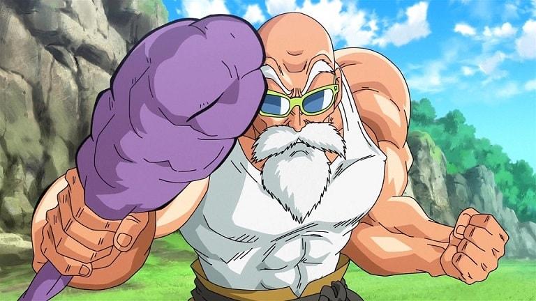 Mestre Roshi Dragon Ball Super Anime Torneio do Poder