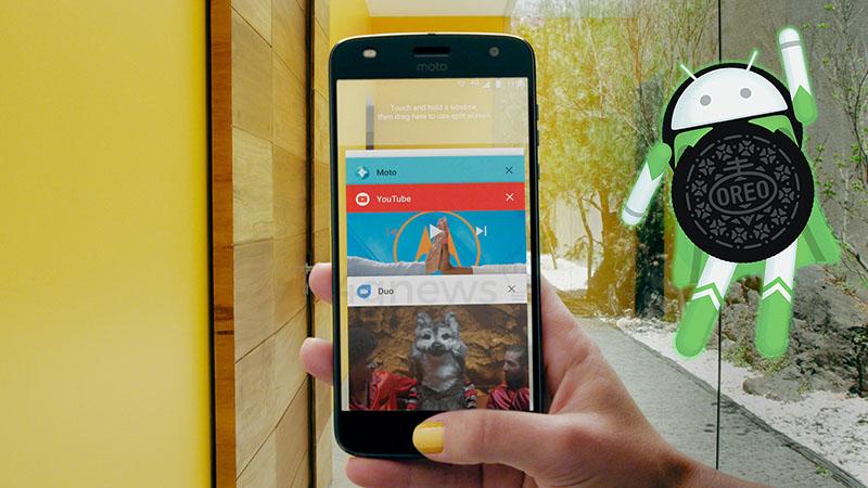 Motorola Moto Android Oreo smartphone