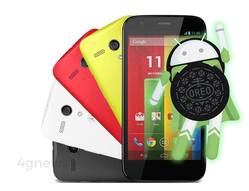 Motorola Moto G Android Oreo LineageOS 15