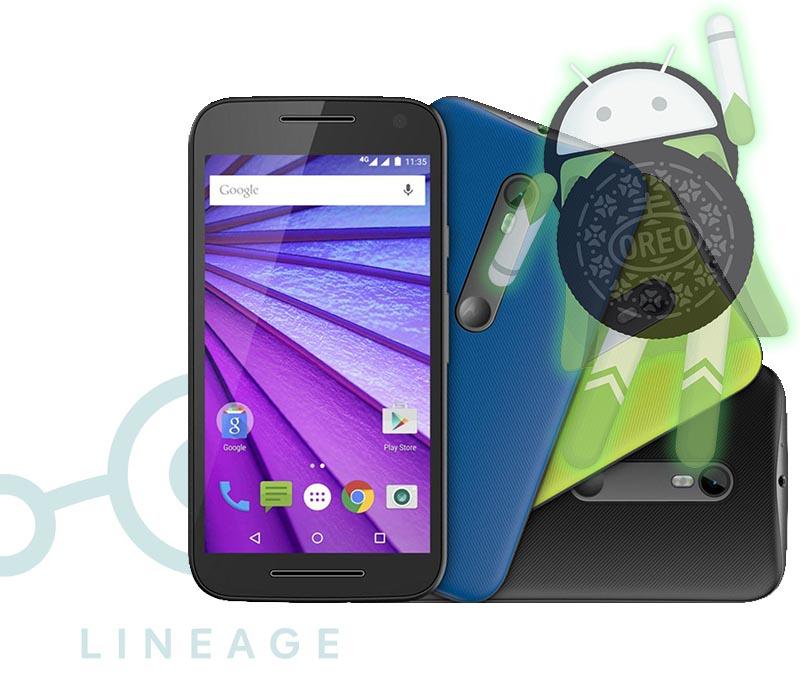 Motorola Moto G3 LineageOS 15