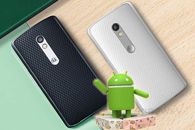 Motorola Moto X Play Andorid Nougat