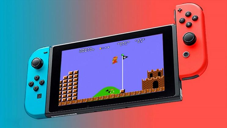 Nintendo Switch irá ter jogos classicos de NES e SNES