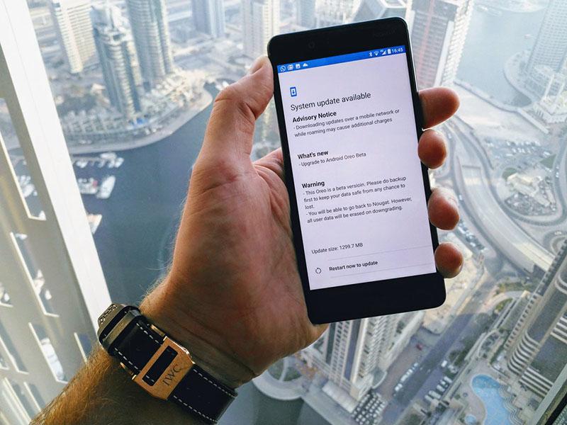 Nokia 8 Android Oreo 8.0 atualização