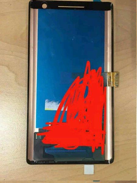 Alegado Painel frontal do Nokia 9